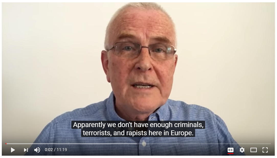 Pat Condell hits the nail on the head once again