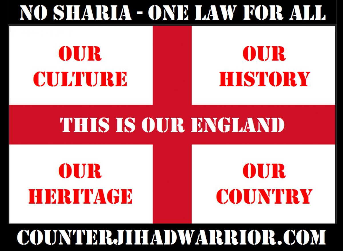 counterjihadwarrior.com – Because Islam will NEVER EVER be a Religion of Peace – rather a barbaric, totalitarian cult, based on fear, violence, intimidation & terror.